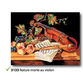 Canvas Nature morte au violon art.133.3133