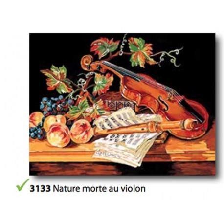 Canovaccio Nature morte au violon art.133.3133