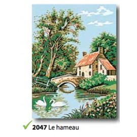 Canvas Le hameau art. 72.2047