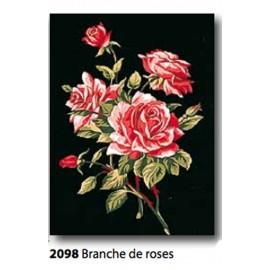 Cloth Branche de roses art. 72.2098