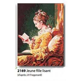 Canvas Jeune fille lisant art. 72.2169