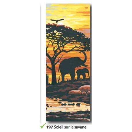 Tea towel Soleil sur la savane art. 62.197