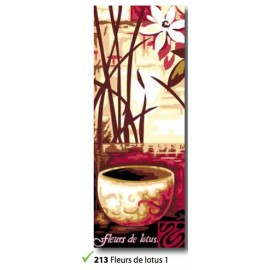 Canvas Fleurs de lotus 1 art. 62.213