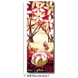Canvas Fleurs de lotus 2 art. 62.214