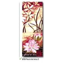 Canvas Fleurs de lotus 3 art. 62.215