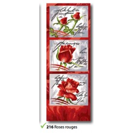 Cloth Roses rouges art. 62.216