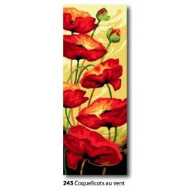 Cloth Coquelicots au vent art. 62.245