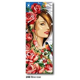Tissu Reve roses art. 62.248