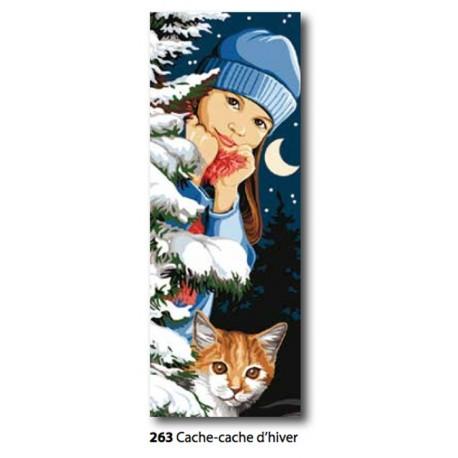 Canvas Cache-Cache d'hiver art. 62.263