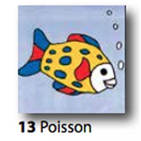Kit Canovaccio Poisson art. 1435.13