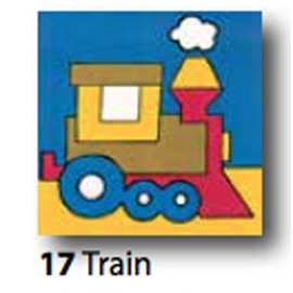 Kit Canvas Train art. 1435.17
