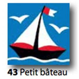 Kit Canvas Petit bateau art. 1435.43