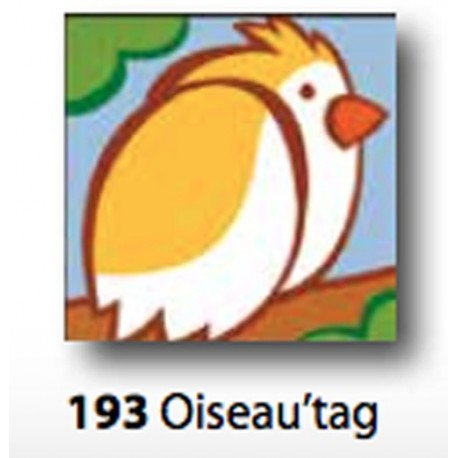 Kit Canovaccio Oiseau'tag art. 1435.193