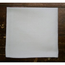 Napkin with. White