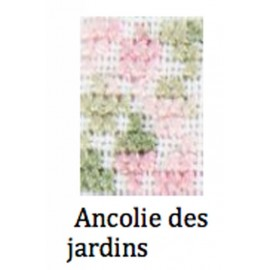 Patterns Coloris - Ancolie des jardins with. 4500