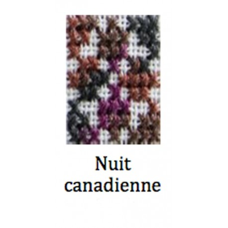 Moulinè Coloris - Nuit canadienne col. 4522