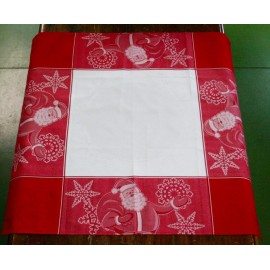 Tovaglietta centrotavola natalizia col. Rosso