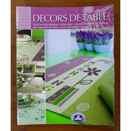 Libro punto croce DMC - Decors de Table