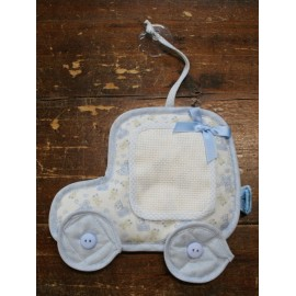 Baby on board with. Blue