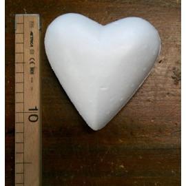 Cuore di polistirolo - Diametro 100 mm