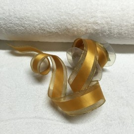 Ribbon by the meter col. Gold