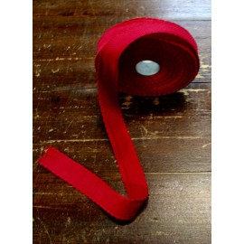 Edge to the aida fabric to 55 holes h 3 cm - the Color Red