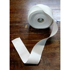 Bord de la toile aïda à 55 trous h 5 cm - Couleur Blanc