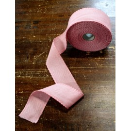 Edge to the aida fabric to 55 holes h 5 cm - Color Pink