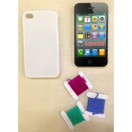 Cover Iphone 4 from embroider - black
