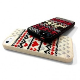 Couverture de l'Iphone 5 par broder - blanc