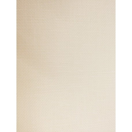 Pure linen, 12 threads - 30 count color ivory