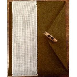 Porta tablet ricamabile col. marrone