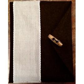 Porta tablet ricamabile col. nero