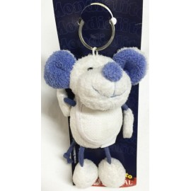 Keychain Mickey mouse with. White and Blue