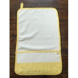 Asciugamano asilo giallo