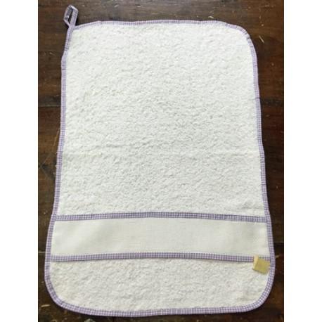 Asciugamano asilo verde chiaro