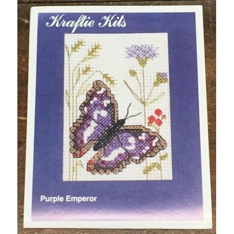 Kit ricamo - farfalla lilla