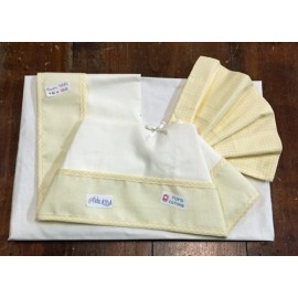 A cover sheet cradle 2 pcs yellow