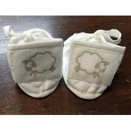 Scarpine neonato col. bianco