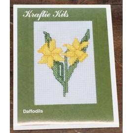 Kit ricamo - fiori gialli