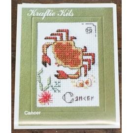 Kit ricamo - segni zodiacali: Cancro