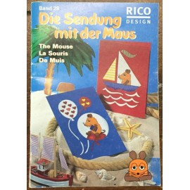 Book, cross stitch Rico Design - No. 28