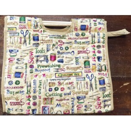 Bag work with. Fantasy sewing
