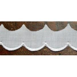Sangallo con h. 2cm bianco