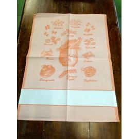 Strofinaccio Pasta col. Arancione