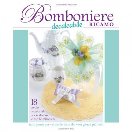 Female jobs of the Hands of Fairy - wedding Favors embroidery decalcabile